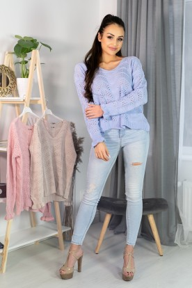 Sweter Venigam Light Blue