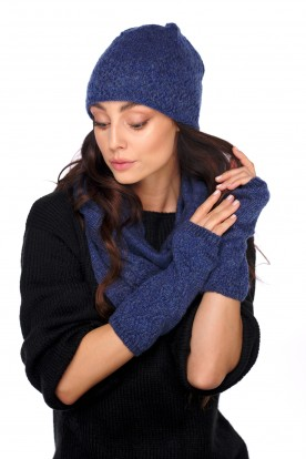 Set of hat, scarf and gloves LC133 jeans