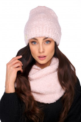 Original set with wool and mohair LC136 powder pink