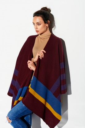 Autumn poncho LSG114 strips