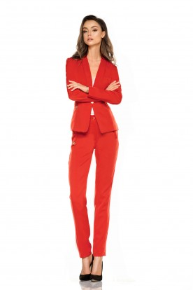 Suit trousers L279B red