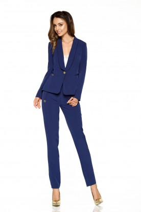 Suit trousers L279B navy