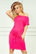 Rožinės spalvos suknelė