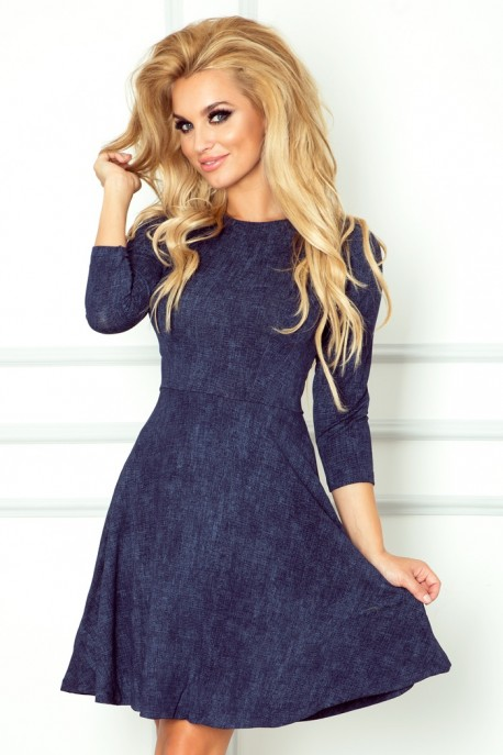 Globed dress with 3