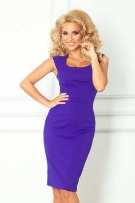 Fitted dress - blue 53-10
