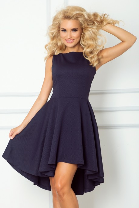 Lacosta - Exclusive dress with longer back - dark blue 66-1