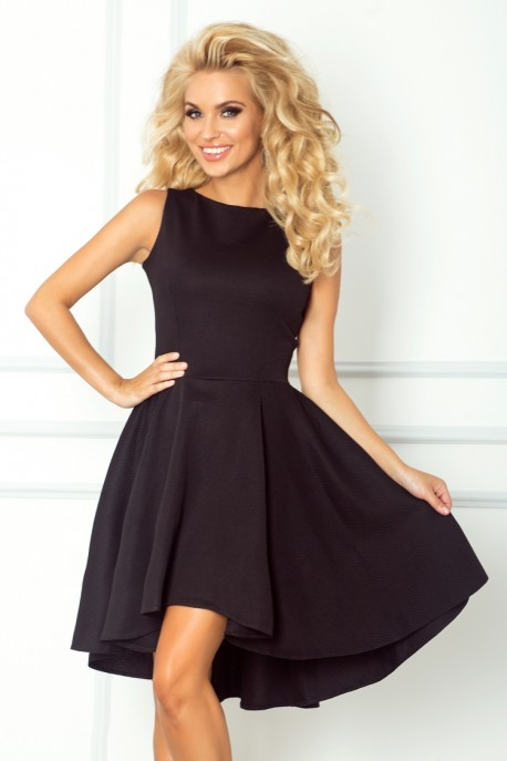 Lacosta - Exclusive dress with longer back - black 66-2