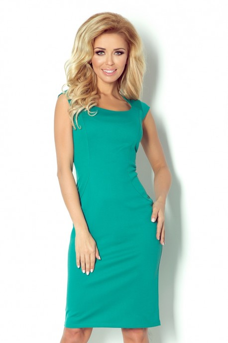 Fitted dress - Green 53-13