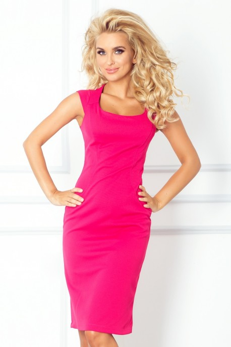 Fitted dress - Pink 53-11A