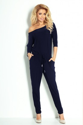 Overall Sporty - navy blue 81-3