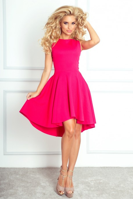 Lacosta - Exclusive dress with longer back - Pink 66-3