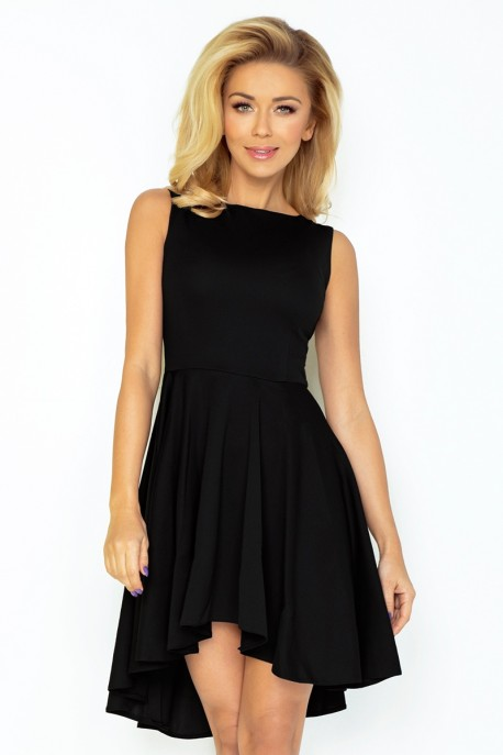 Lacosta - Exclusive dress with longer back - Black 33-4