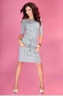 Pilka suknelė