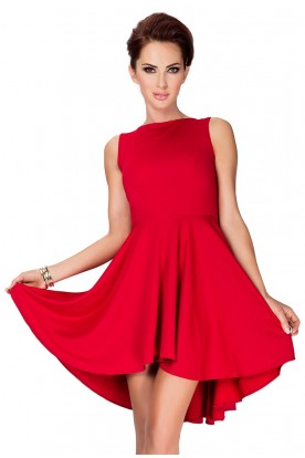 Lacosta - Exclusive dress with longer back - Red 33-2