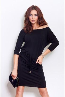 Sporty dress - Black 13-1A