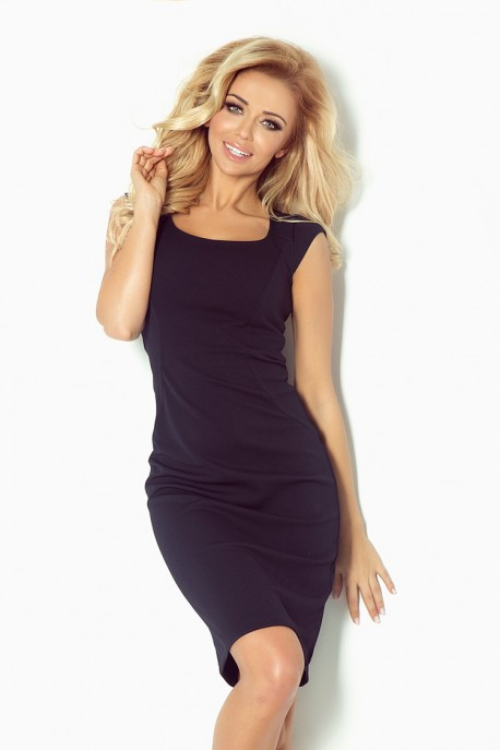 Fitted dress - Navy Blue 53-12A