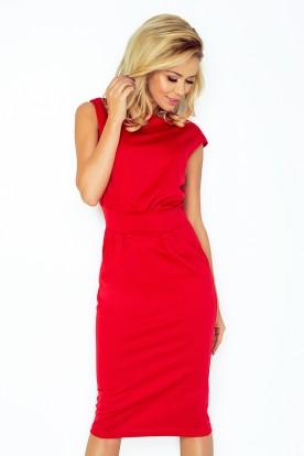 Dress SARA - red 144-2